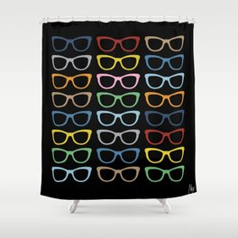 Sunglasses at Night Shower Curtain