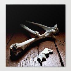 tired bones Canvas Print