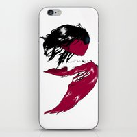 rock n roll iPhone & iPod Skins featuring Rock 'n' Roll xxx by Andrew Mark Hunter