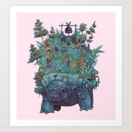 Living Jungle Art Print