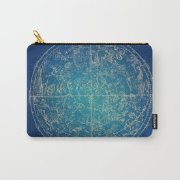 Zodiac and Stars Carry-All Pouch