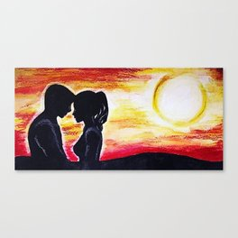 Lovers #1 Canvas Print