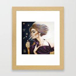 I Light My Own Framed Art Print