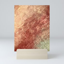 Crystallized Copper Trails Mini Art Print