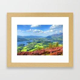 Autumn trip to Lake District, England Framed Art Print
