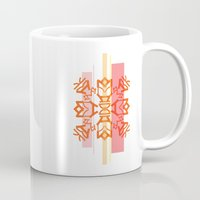 tokyo Mugs featuring Tokyo  by Natalie Sampson
