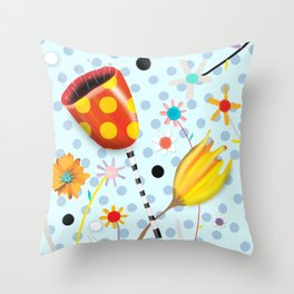 I will not forsake the colours that you bring Throw Pillow