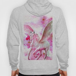 HORSE PINK FANTASY CHERRY BLOSSOMS Hoody