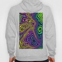 Abstract loops 3A Hoody