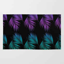 Palm Leaves Pattern #19 #Funky #decor #art #society6 Rug