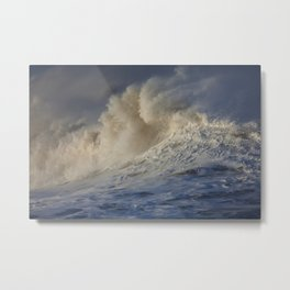 Rough Seas Metal Print