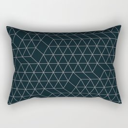 Cityscape Geo 2 Rectangular Pillow