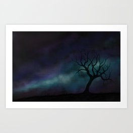 Quite the View Art Print