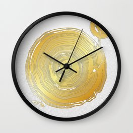 Vinyl Rings Wall Clock