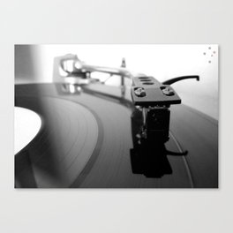 Turntable Canvas Print