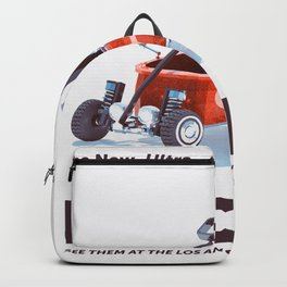 Red Toy Wagon Backpack