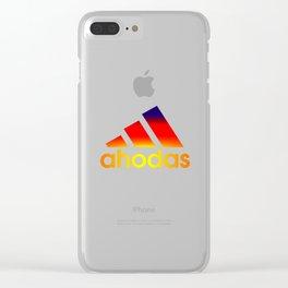Ahodas inspired adidbas Clear iPhone Case