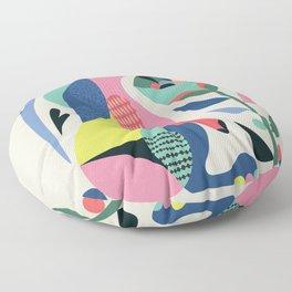 Wild rabbit Floor Pillow