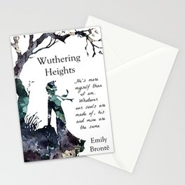 Wuthering Heights Emily Bronte Stationery Cards