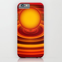 Energy ball 177 iPhone Case