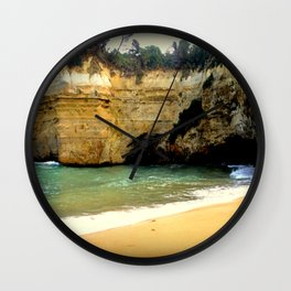 Perfect swimming Hideaway Wall Clock