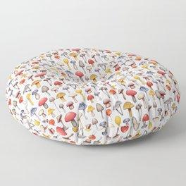 Cute Mushroom Pattern Floor Pillow