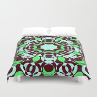 psycho Duvet Covers featuring Psycho by exit2wonderland