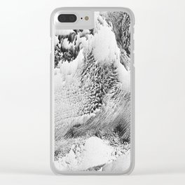 Atlas Collection #3 Clear iPhone Case