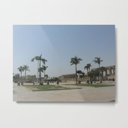 Temple of Luxor, no. 7 Metal Print
