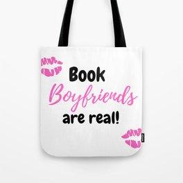 Book Boyfriend Tote Bag