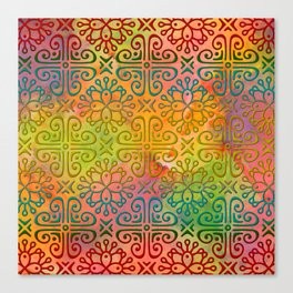 DP050-6 Colorful Moroccan pattern Canvas Print