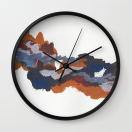 clouds_july Wall Clock
