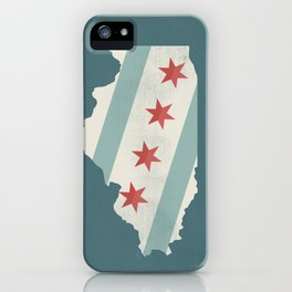 Chicago Flag  iPhone Case