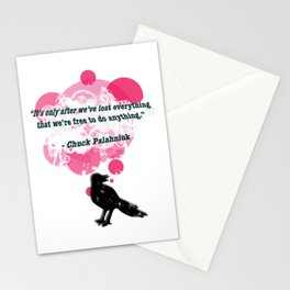 Fight Bird Stationery Cards