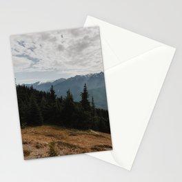 Hurricane Ridge, Olympic Mountains, Washington (2018) Stationery Cards