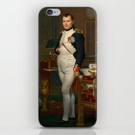 Emperor Napoleon in His Study at the Tuileries iPhone Skin