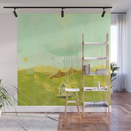 VALLEY CABIN Wall Mural