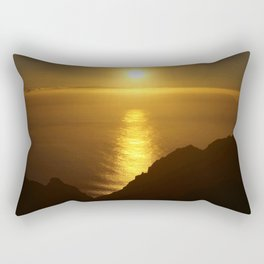 Sunset over the Canary islands Rectangular Pillow