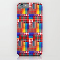 CHECK PATTERN iPhone 6s Slim Case