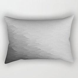 Gray Texture Ombre Rectangular Pillow