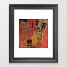 COLLAGE 7 Framed Art Print