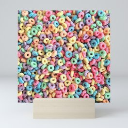 Fruit Loops Mini Art Print