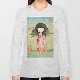 Gabriel's tales: Moon Melody Long Sleeve T-shirt
