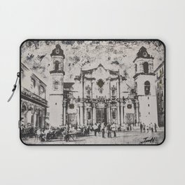 Havana Cathedral Laptop Sleeve