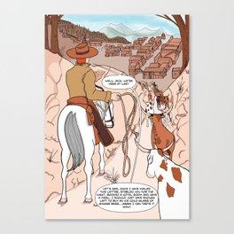 Trail End Canvas Print