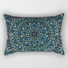 Winter Mandala Rectangular Pillow