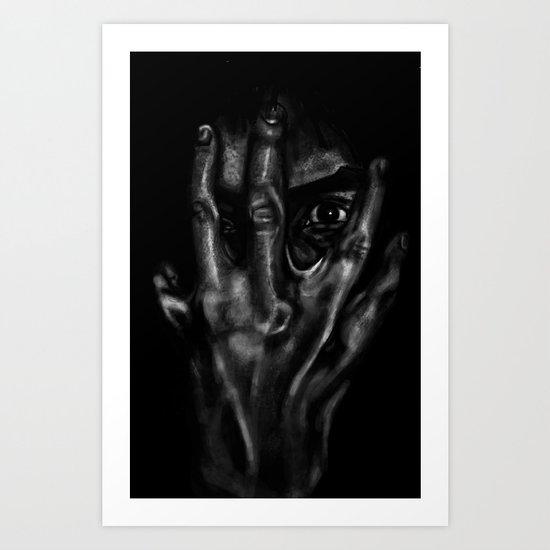 Inner workings of the mind Art Print