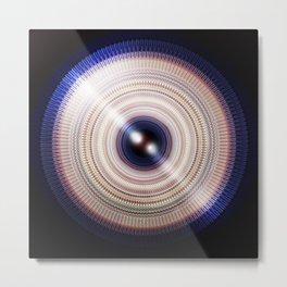 REE — Radial Eye Explosion Metal Print