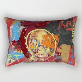 Basquiat The One Rectangular Pillow