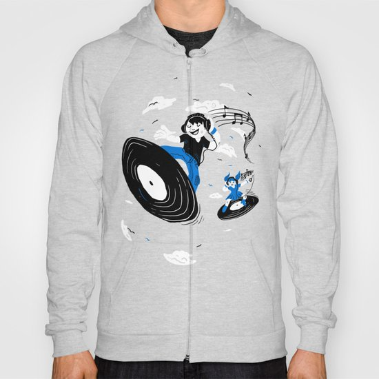 Surfing the Beats Hoody